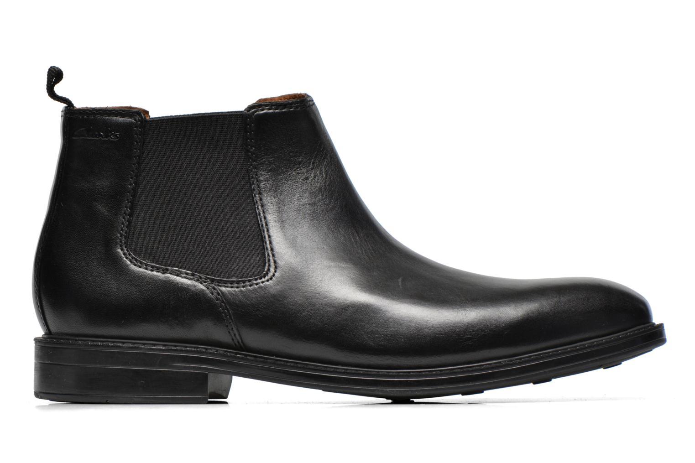 Boots en enkellaarsjes Clarks Chilver Top Zwart achterkant