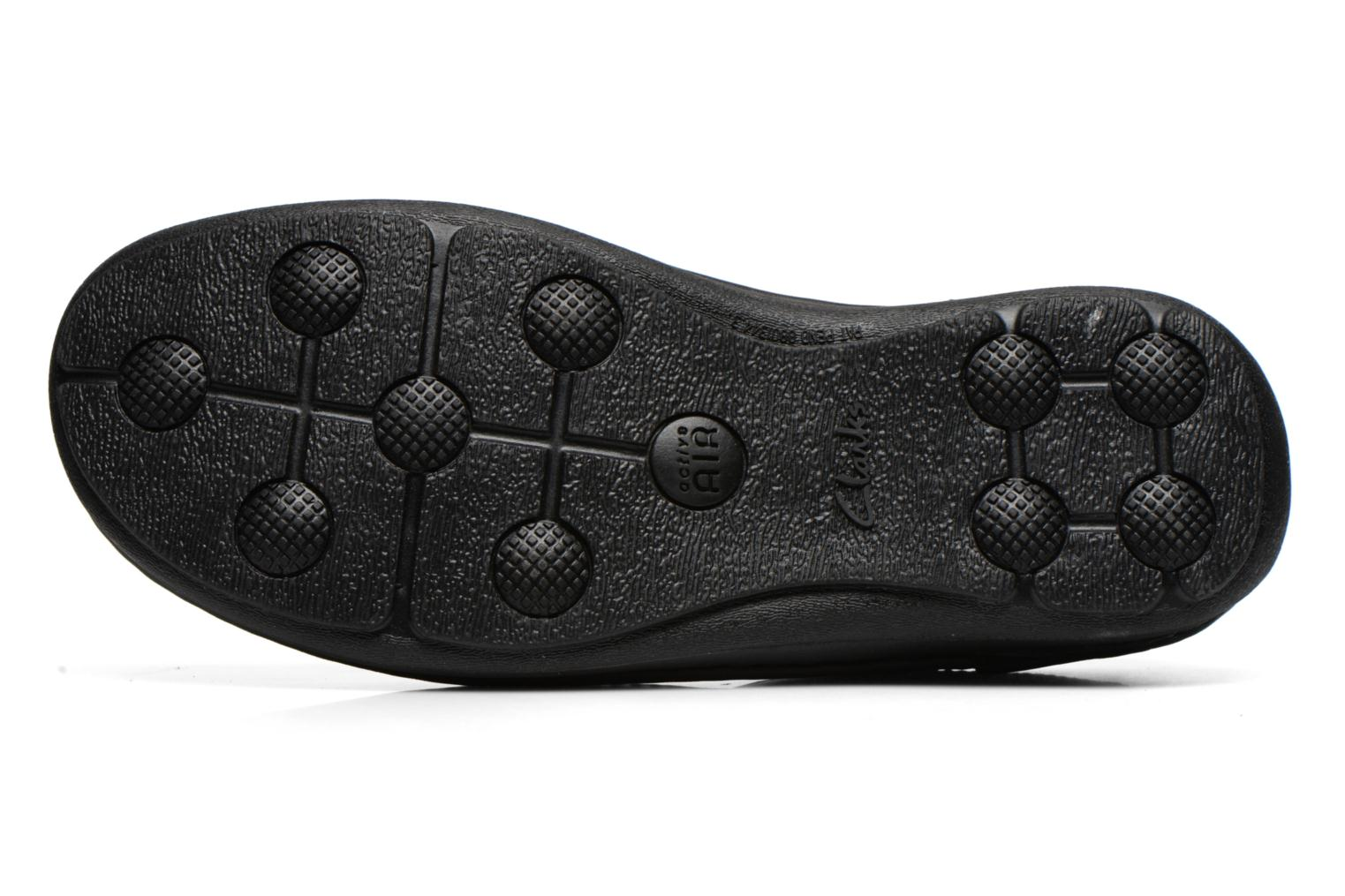 Lace-up shoes Clarks Nature Three Black view from above