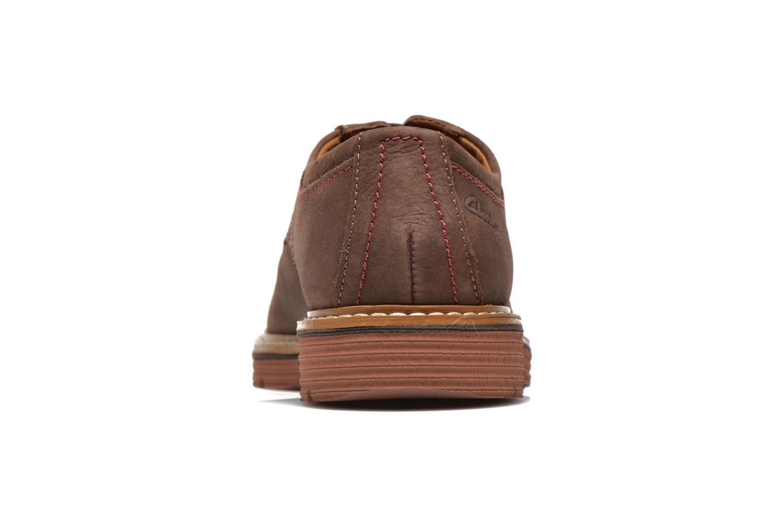 Chaussures à lacets Clarks Newkirk Plain Marron vue droite