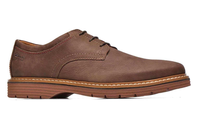 Chaussures à lacets Clarks Newkirk Plain Marron vue derrière