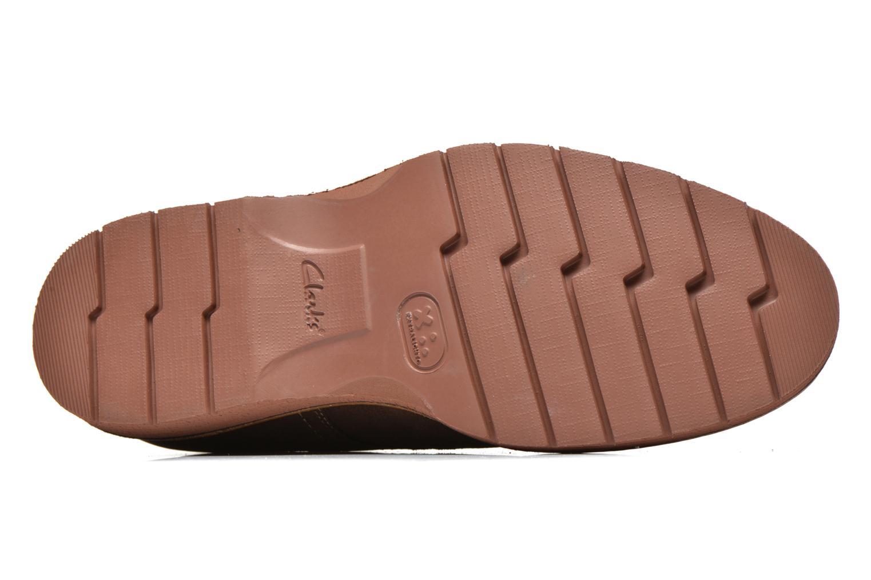 Chaussures à lacets Clarks Newkirk Plain Marron vue haut