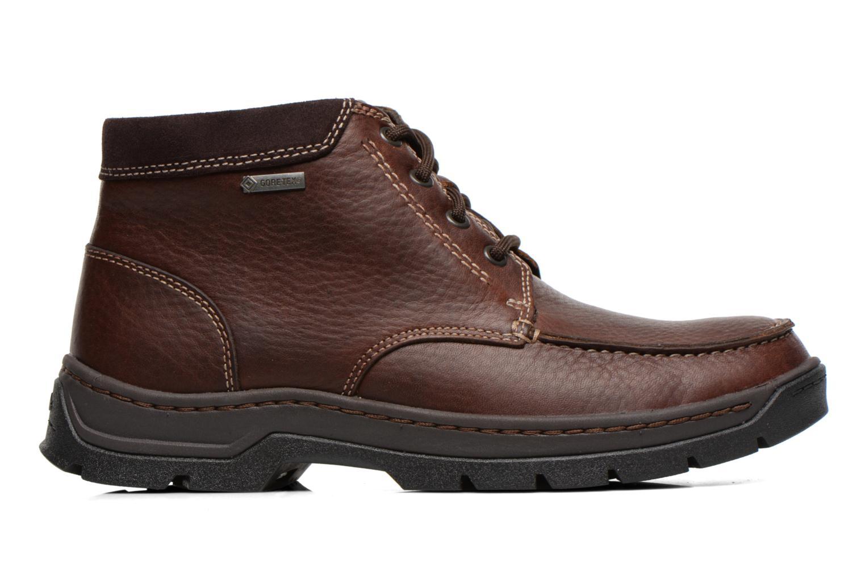 Chaussures à lacets Clarks Stanten Time GTX Marron vue derrière