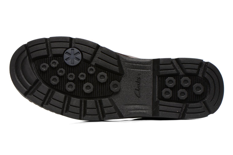 Chaussures à lacets Clarks Stanten Time GTX Marron vue haut