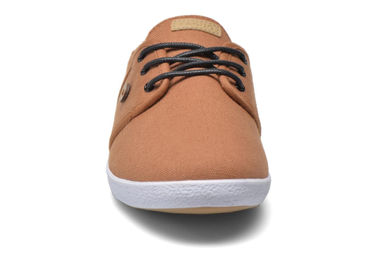 Baskets Faguo Cypress W Marron vue portées chaussures
