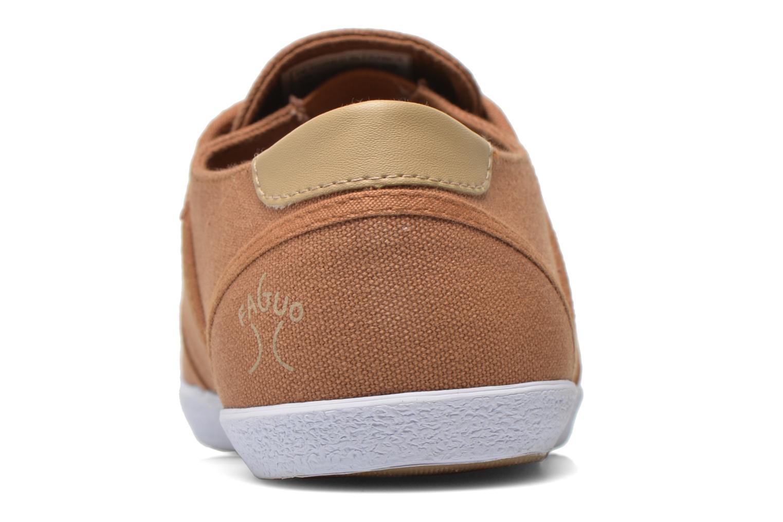 Sneaker Faguo Cypress W braun ansicht von rechts