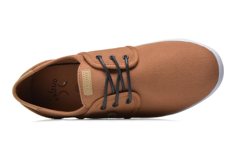 Sneaker Faguo Cypress W braun ansicht von links