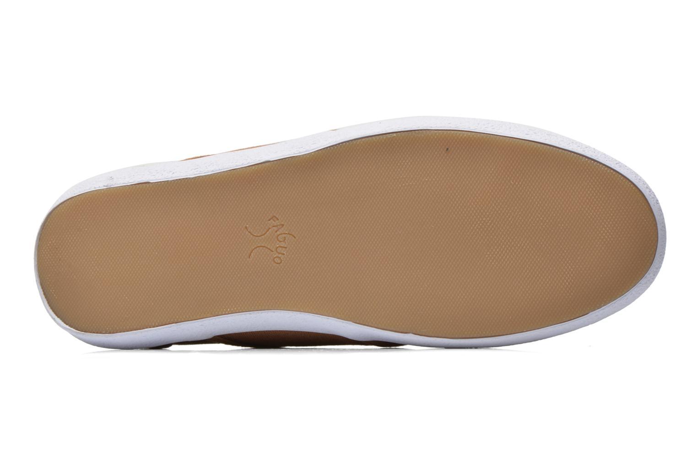Sneaker Faguo Cypress W braun ansicht von oben