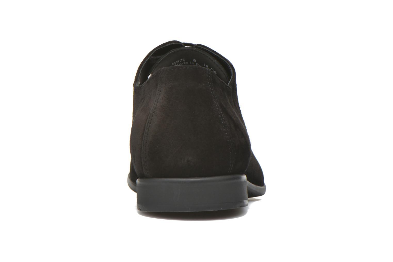 Zapatos con cordones Kenzo Westy Negro vista lateral derecha