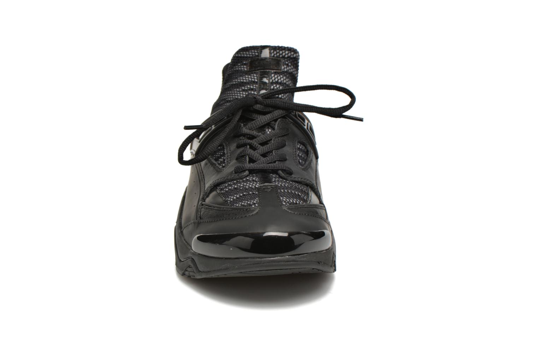 Sneaker Kenzo Sonic schwarz schuhe getragen