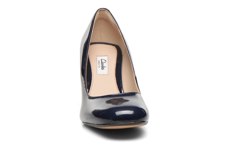 Escarpins Clarks Gabriel Mist Bleu vue portées chaussures