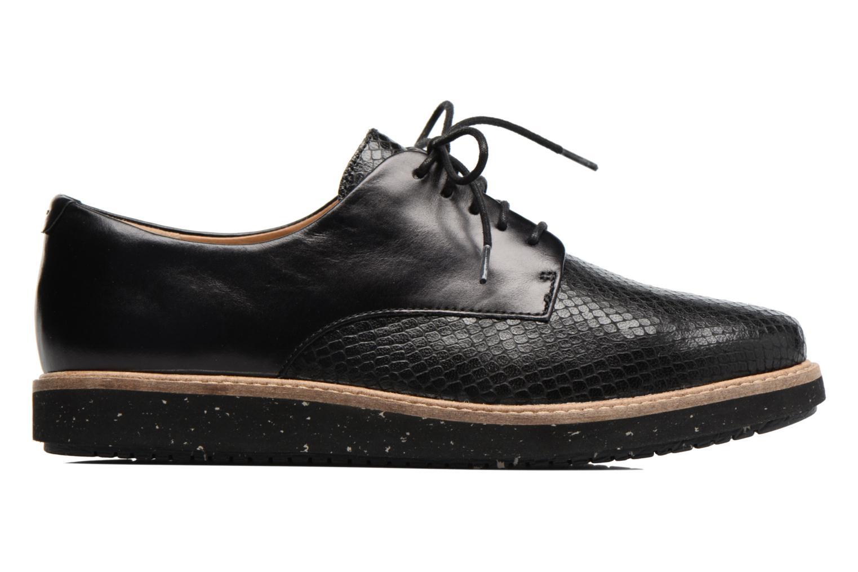 Chaussures à lacets Clarks Glick Darby Noir vue derrière