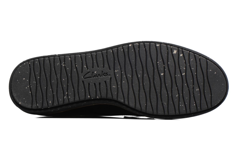 Chaussures à lacets Clarks Glick Darby Noir vue haut