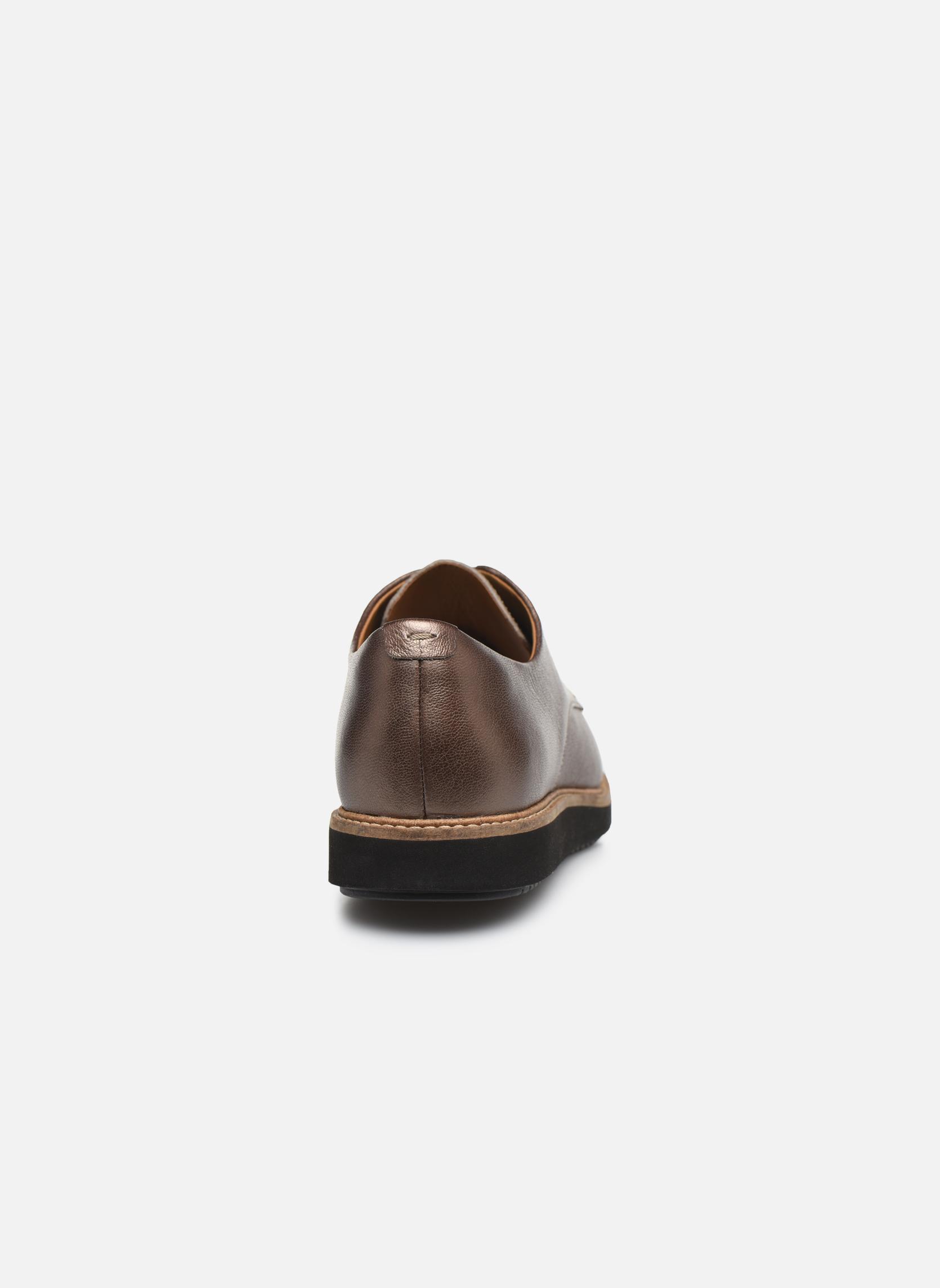 Chaussures à lacets Clarks Glick Darby Marron vue droite