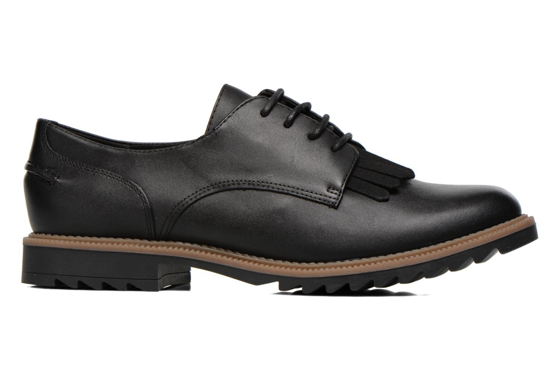 Zapatos con cordones Clarks Griffin Mabel Negro vistra trasera