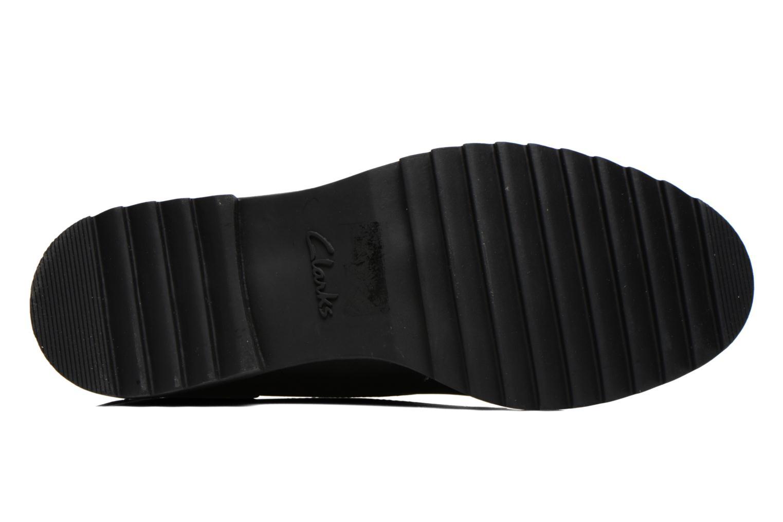 Chaussures à lacets Clarks Griffin Mabel Noir vue haut