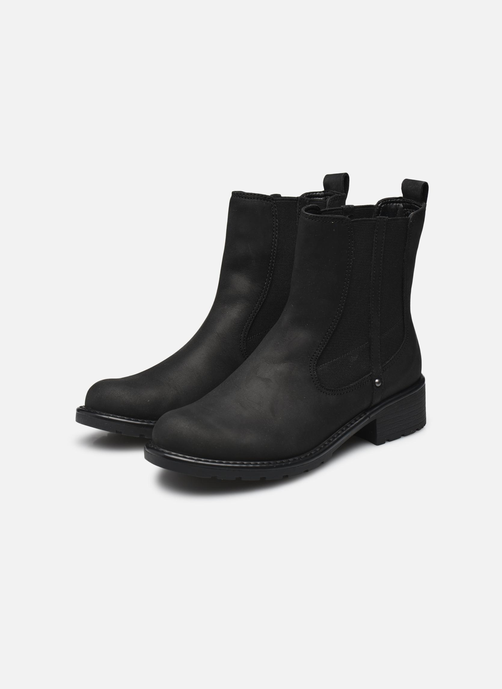 Bottines et boots Clarks Orinoco Club Noir vue bas / vue portée sac
