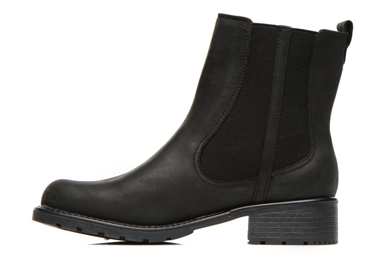 Bottines et boots Clarks Orinoco Club Noir vue face