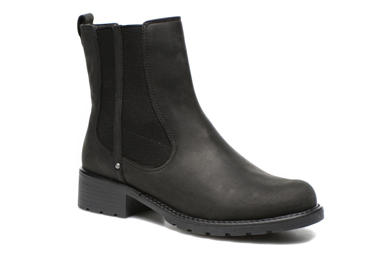 Orinoco Club Black leather