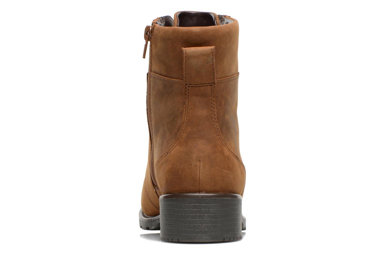 Bottines et boots Clarks Orinoco Spice Marron vue droite