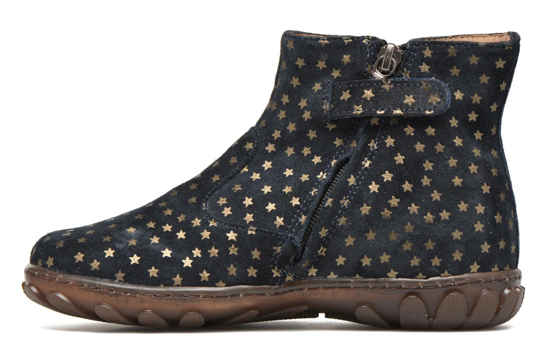 Boots en enkellaarsjes Pom d Api Cute boots cat mini star Blauw voorkant