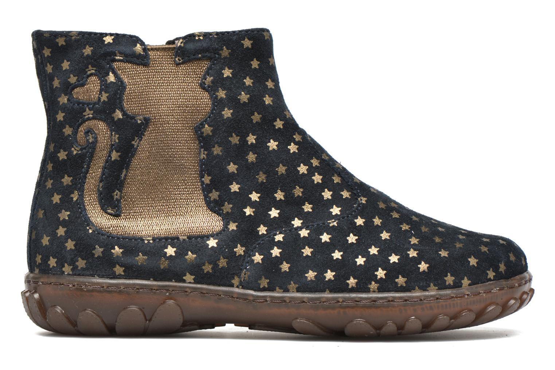Bottines et boots Pom d Api Cute boots cat mini star Bleu vue derrière