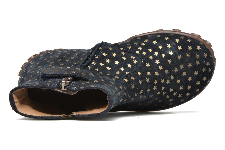 Bottines et boots Pom d Api Cute boots cat mini star Bleu vue gauche