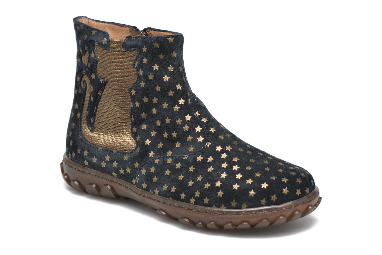 Boots en enkellaarsjes Pom d Api Cute boots cat mini star Blauw detail