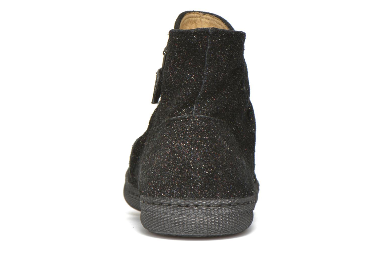 Stiefeletten & Boots Pom d Api New school pleats golden schwarz ansicht von rechts