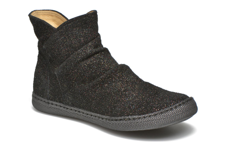 Bottines et boots Pom d Api New school pleats golden Noir vue détail/paire