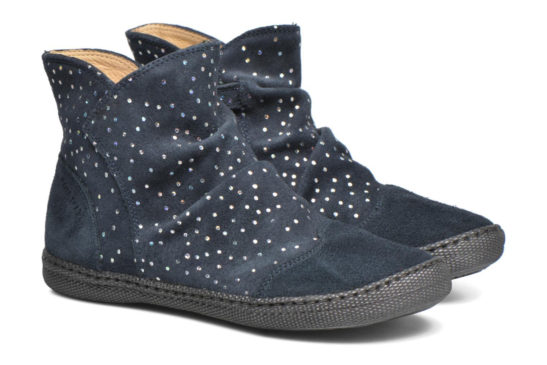 Stiefeletten & Boots Pom d Api New school pleats golden blau 3 von 4 ansichten