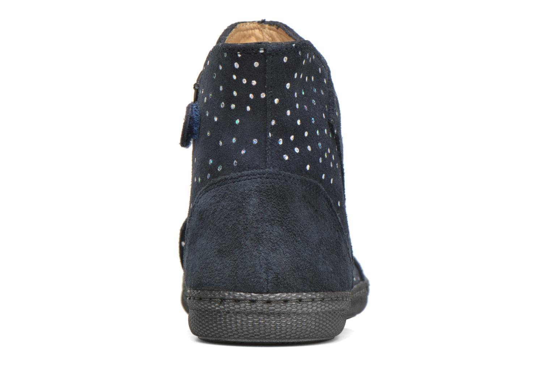 Stiefeletten & Boots Pom d Api New school pleats golden blau ansicht von rechts