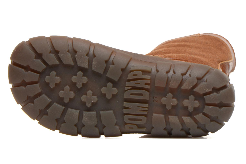 Laarzen Pom d Api Piwi chabraque runner Bruin boven