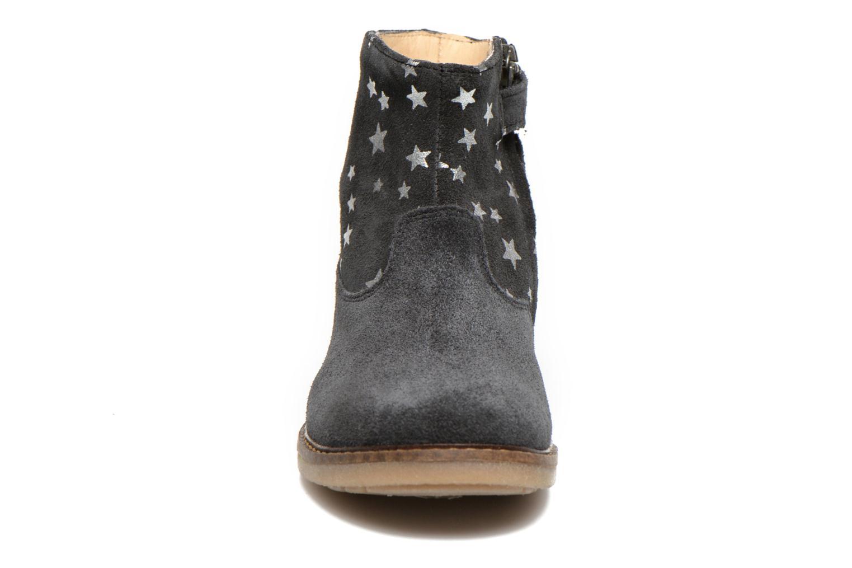Bottines et boots Pom d Api Trip boots print star Bleu vue portées chaussures
