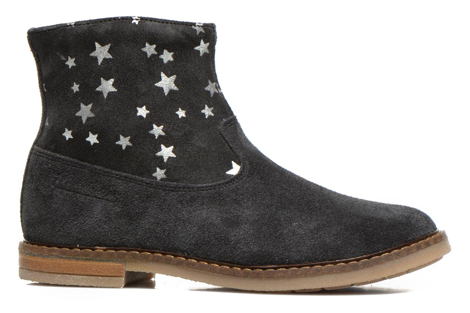 Trip boots print star Anthracite-Argent