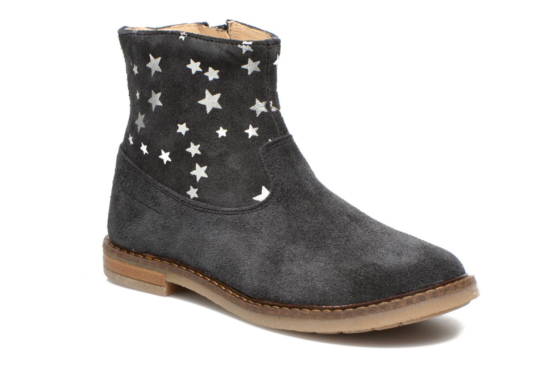 Bottines et boots Pom d Api Trip boots print star Bleu vue détail/paire