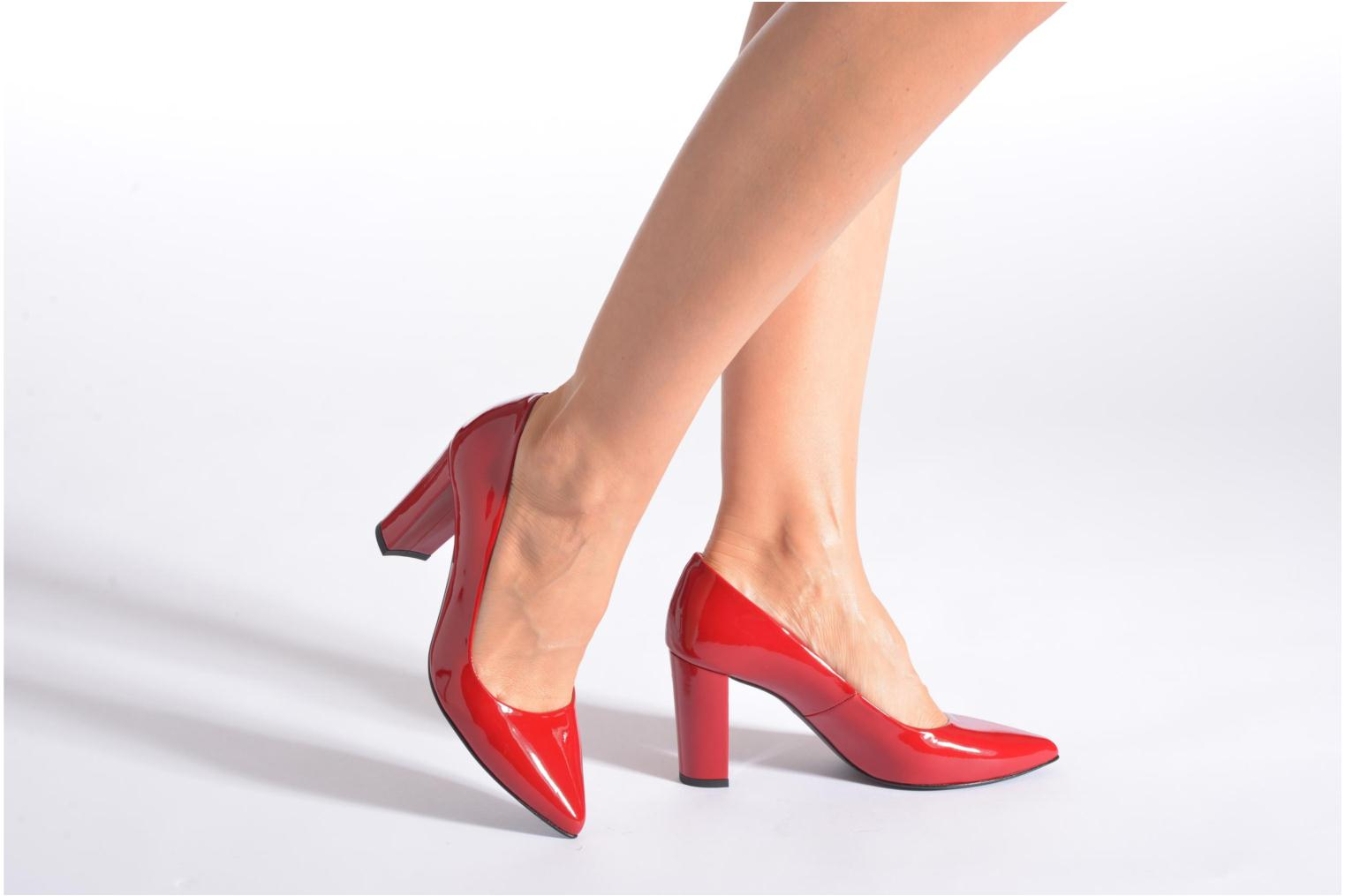 Pumps Made by SARENZA Glossy Cindy #16 Rood onder