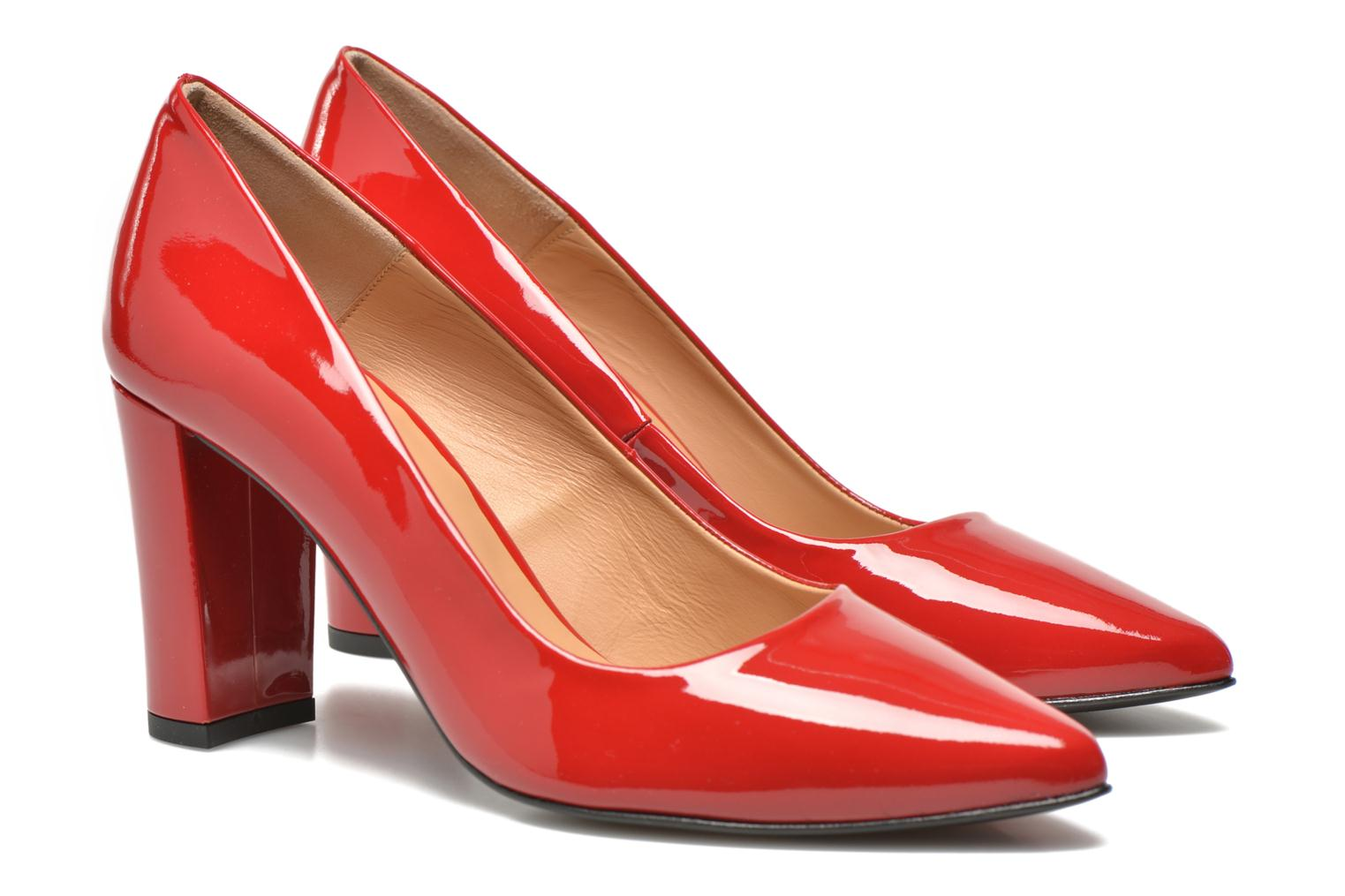 Pumps Made by SARENZA Glossy Cindy #16 Rood rechts