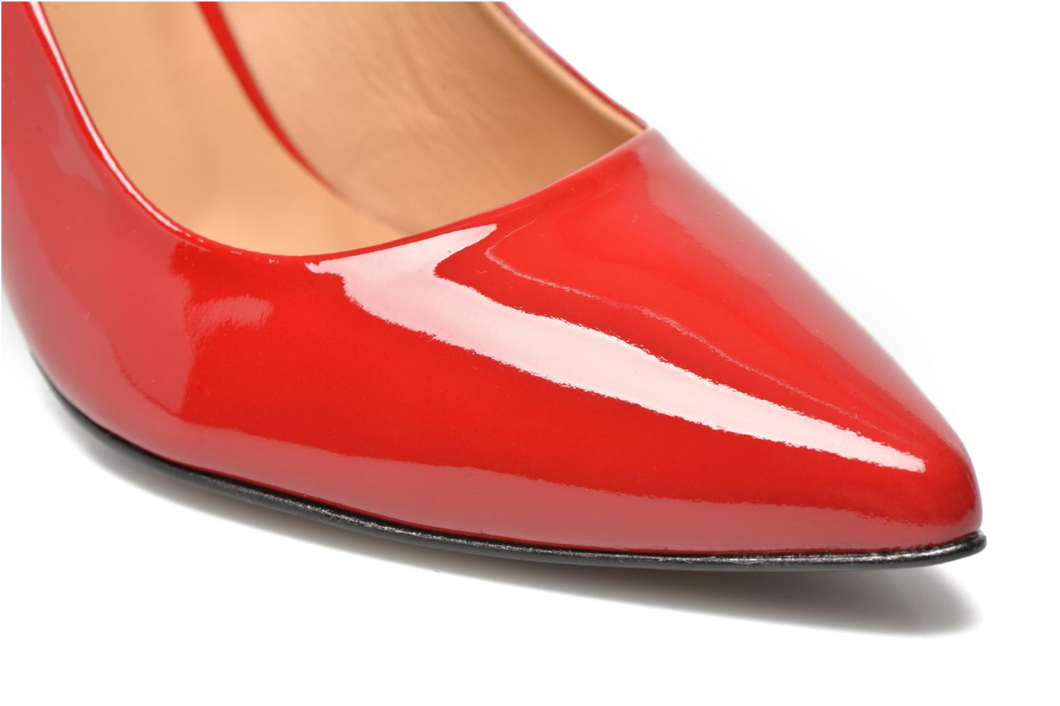 Pumps Made by SARENZA Glossy Cindy #16 Rood achterkant