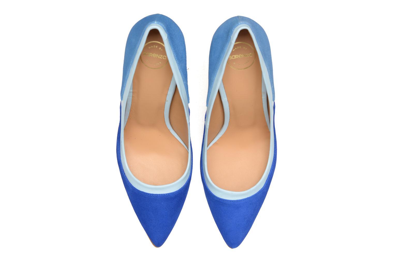 Escarpins Made by SARENZA Notting Heels #1 Bleu vue portées chaussures