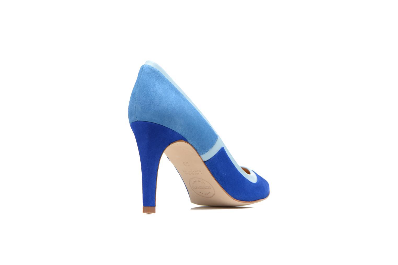 Escarpins Made by SARENZA Notting Heels #1 Bleu vue face