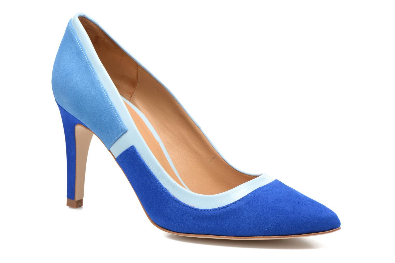 Escarpins Made by SARENZA Notting Heels #1 Bleu vue droite