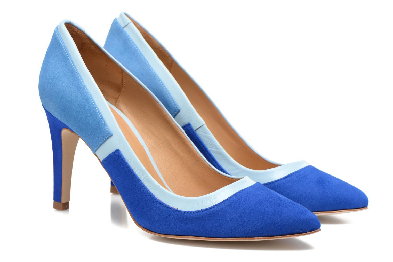 Escarpins Made by SARENZA Notting Heels #1 Bleu vue derrière