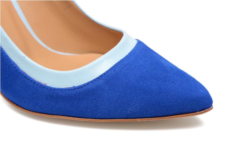 Escarpins Made by SARENZA Notting Heels #1 Bleu vue gauche