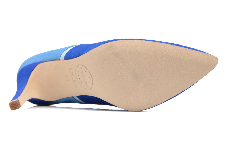 Escarpins Made by SARENZA Notting Heels #1 Bleu vue haut