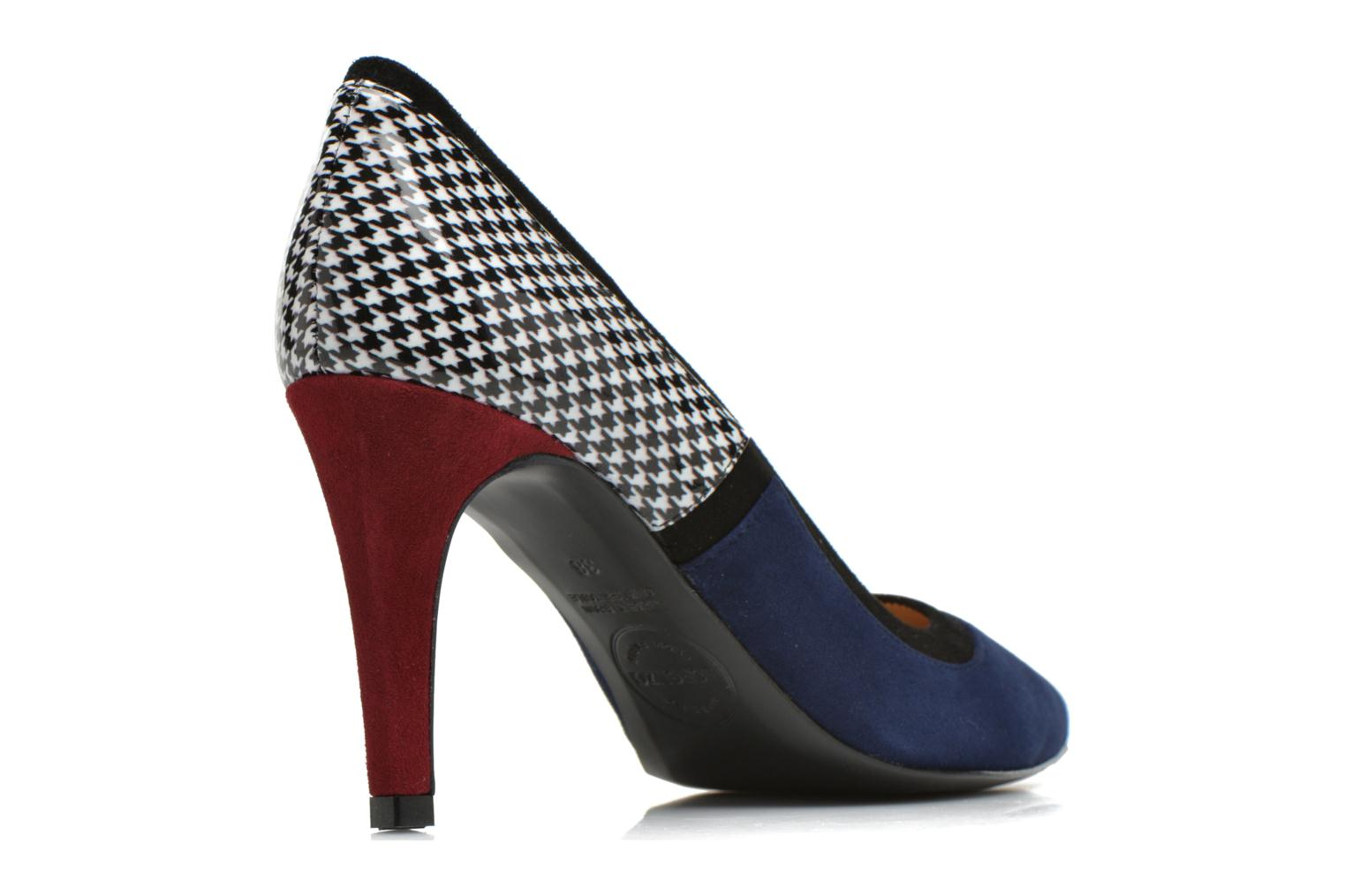 Notting Heels #1 Ante baltico + vernis PDP +ante negro + ante yecla