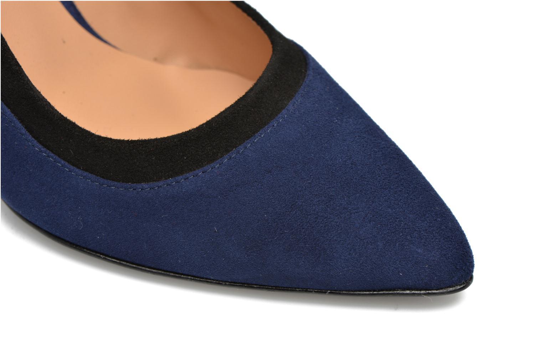 Notting Heels #1 Ante baltico + vernis PDP +ante negro + ante yecla