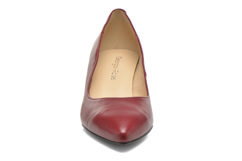 Escarpins Georgia Rose Sanua Bordeaux vue portées chaussures