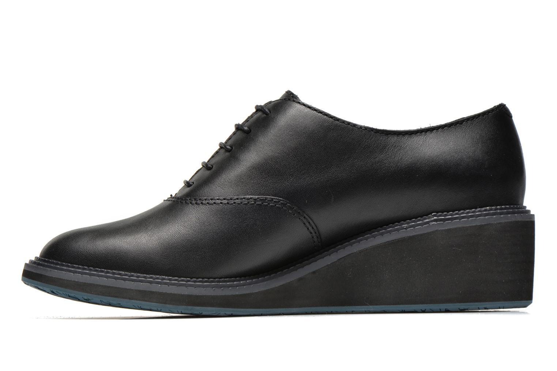 Lace-up shoes Camper Magna K200032 Black front view