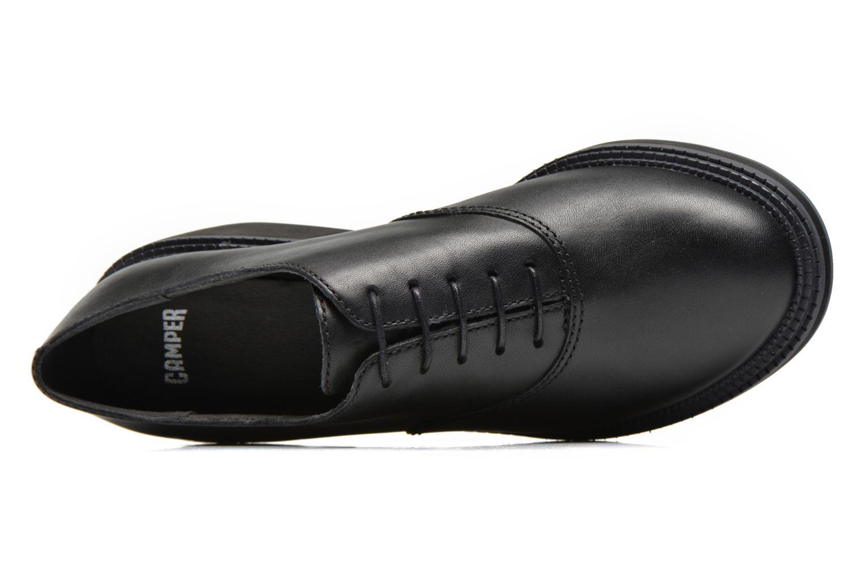 Zapatos con cordones Camper Magna K200032 Negro vista lateral izquierda