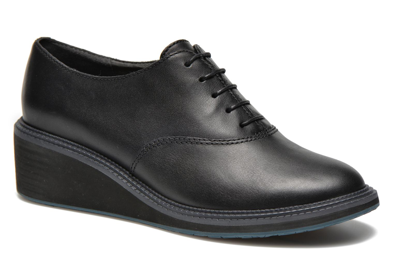 Chaussures à lacets Camper Magna K200032 Noir vue détail/paire